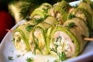 Рецепты с кабачками