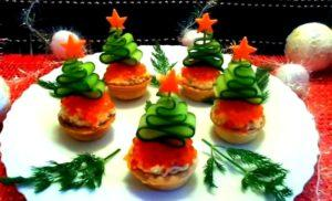 бутерброды на праздник