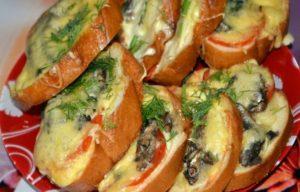 бутерброды на праздничный стор