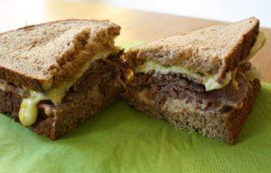 бутерброд с языком
