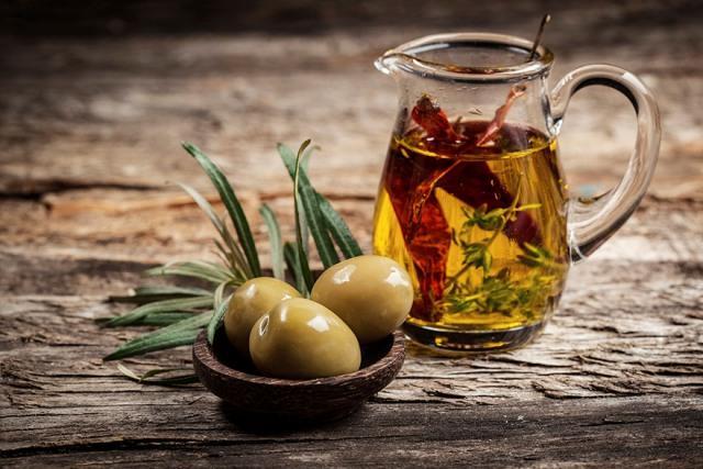 настой оливкового масла и перца
