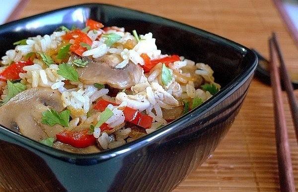 Здоровое питание меню на каждый день для всей семьи с рецептами рис с овощами и грибами