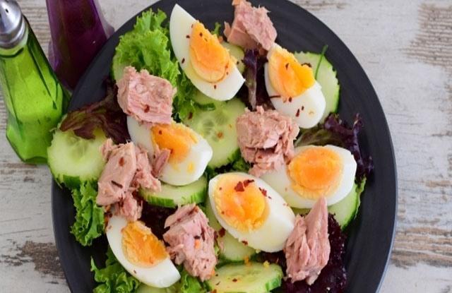 Овощные салаты рецепты с фото простые и вкусные: с тунцом и свежим огурцом