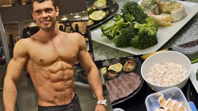Варианты меню правильного питания для мужчин