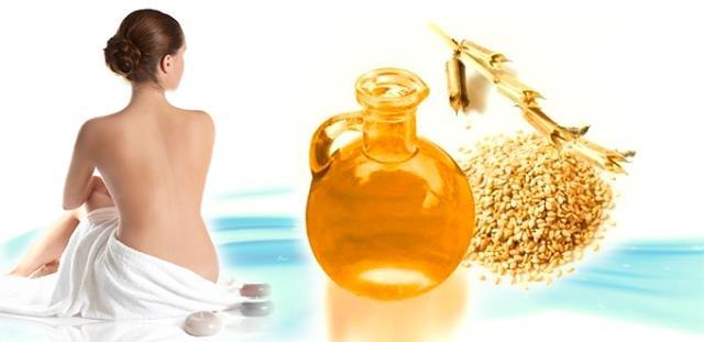 Кунжутное масло для женщин
