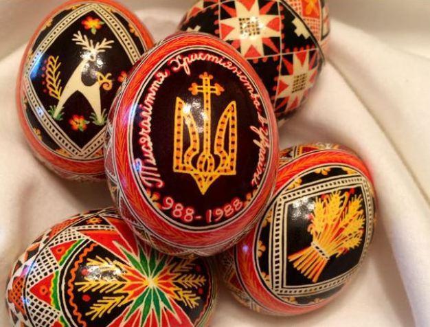 красивые наклейки на яйца
