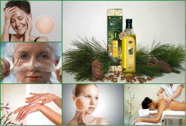 Применение кедрового масла в косметологии в домашних условиях