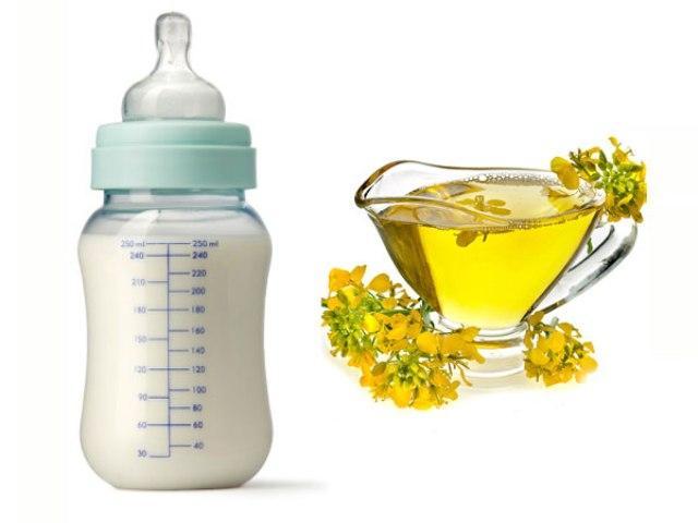 Рапсовое масло в детском питании