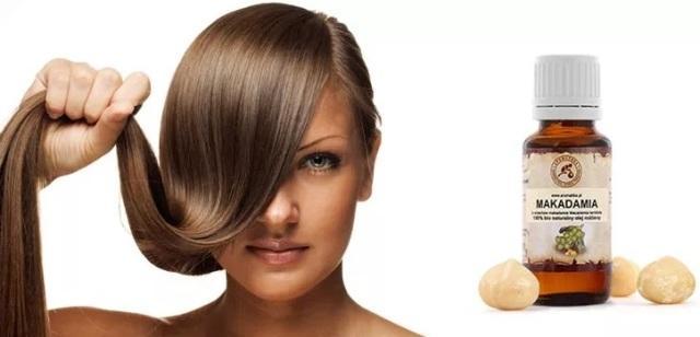 Масло ореха макадамия свойства и применение для волос