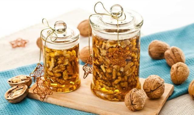 Рецепт варенья из грецких орехов