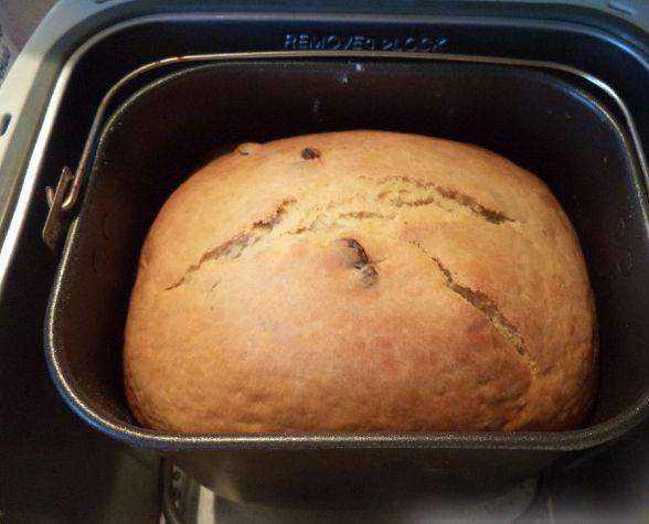 Пасхальный кулич с творогом в хлебопечке