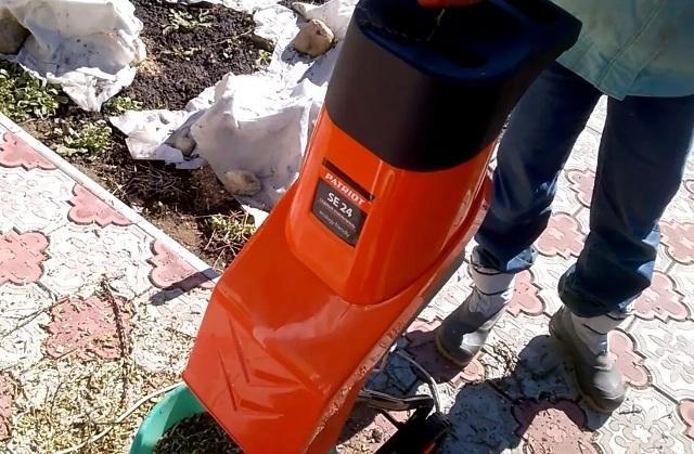 Садовый измельчитель для травы и веток: какой выбрать Patriot