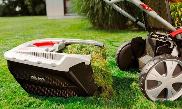 Контейнер газонокосилки для сбора травы