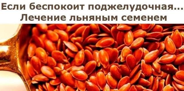 Семена льна: польза и вред как применять при панкреатите