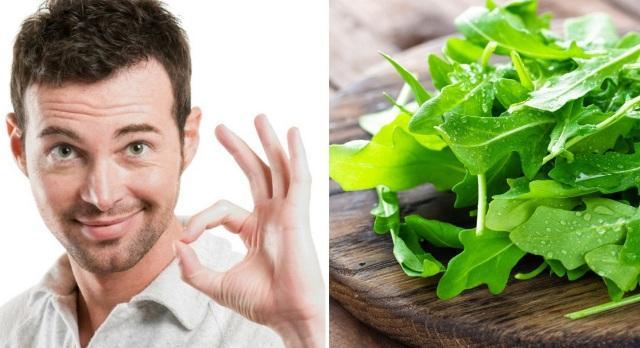 Салат руккола: польза и вред для мужчин