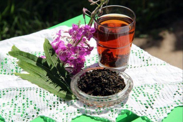 Иван чай заваренный
