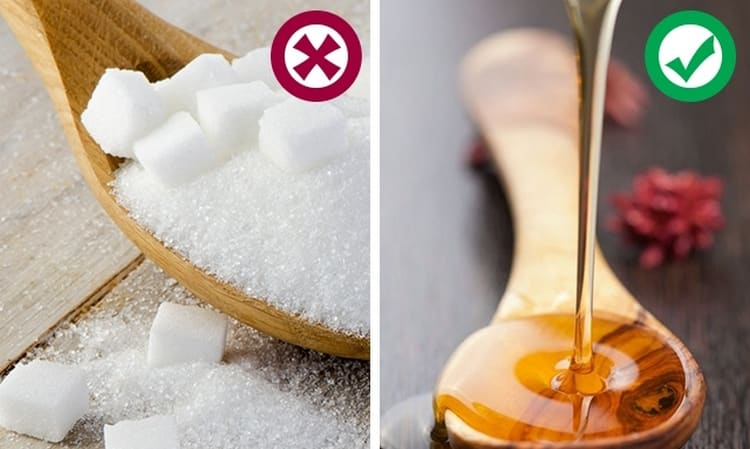 Чем заменить сахар при похудении