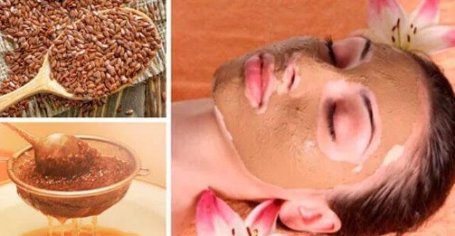 Рецепт маски из семян льна