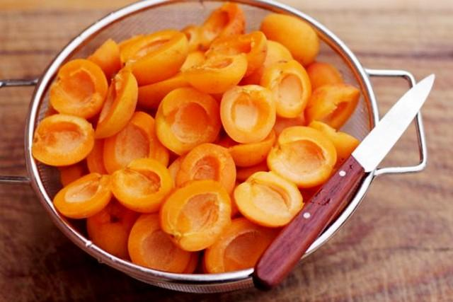 абрикосы: подготовка к варке варенья