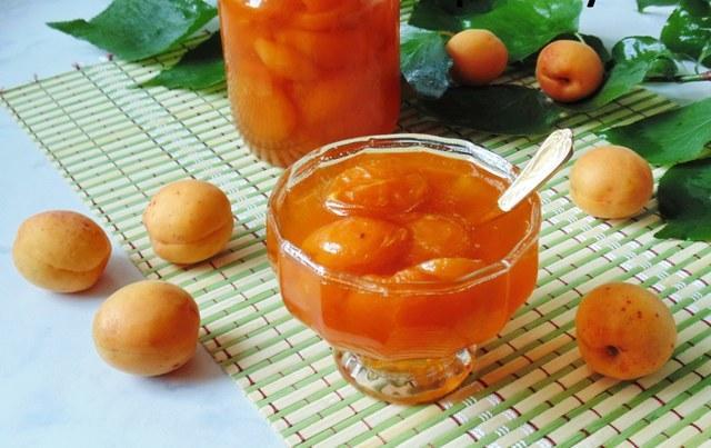 Варенье из абрикосов без косточек на зиму с целыми ягодами