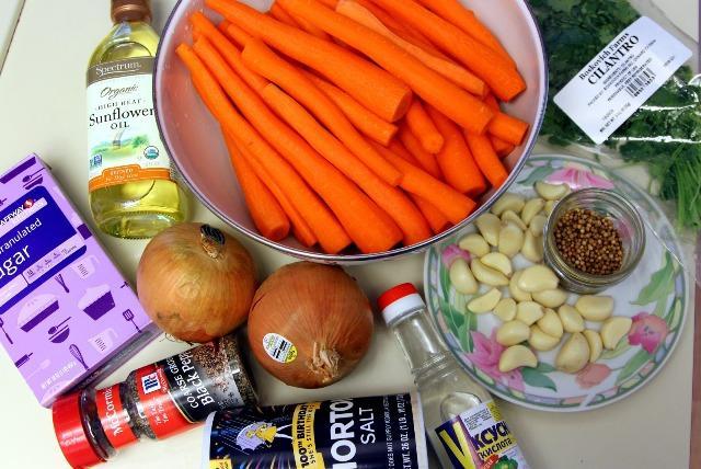 Заправка для морковчи