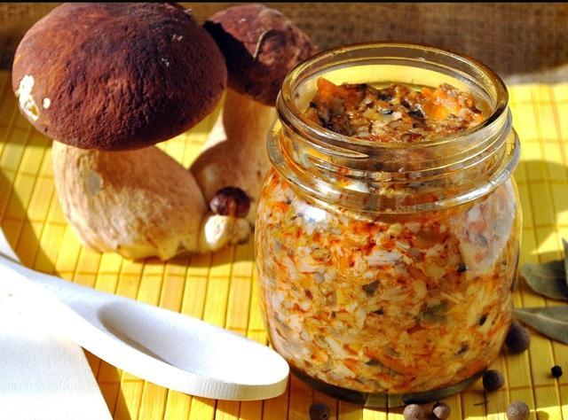 Грибная икра из вареных грибов: самый вкусный рецепт