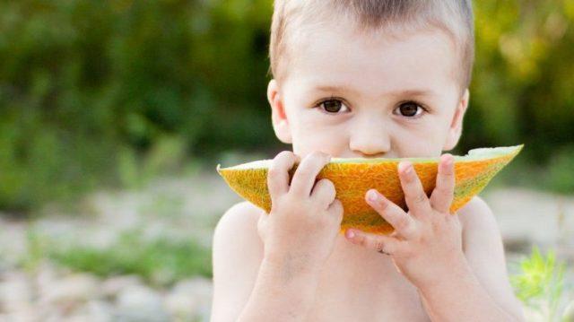 Дыня: польза и вред для здоровья детей