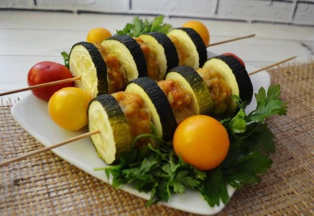 Что приготовить из кабачков на ужин