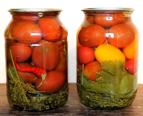 Засолка помидор 15 простых пошаговых рецептов на зиму в банках
