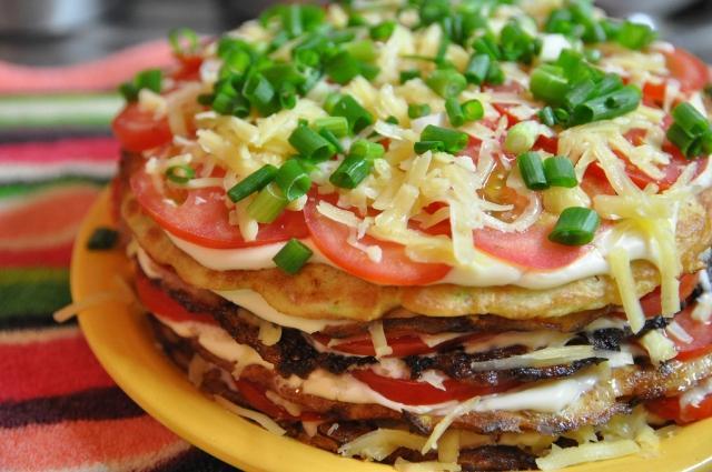 Как приготовить торт из кабачков на ужин