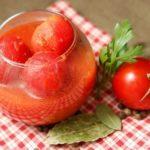 Помидоры в собственном соку без уксуса: рецепты на зиму