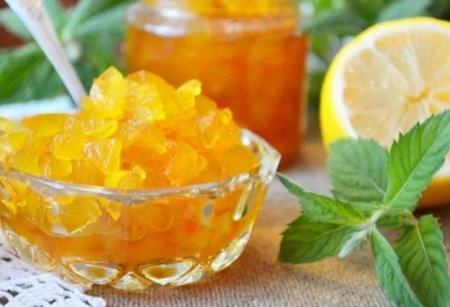 варенье из арбузных корок с лимоном