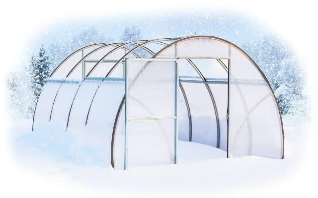 Подготовка парника из поликарбоната к зиме