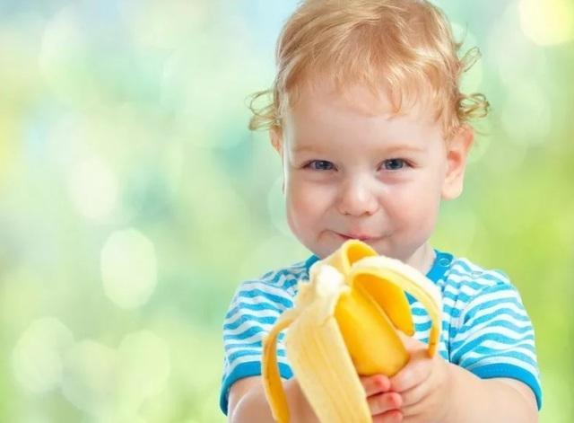 Какие витамины в банане для детей