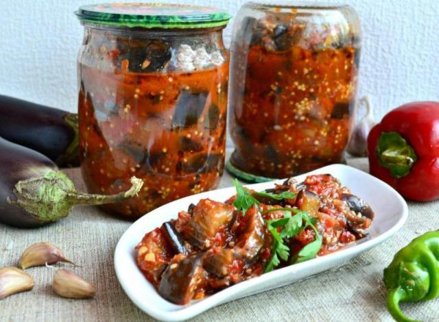 Баклажаны по-корейски: самый вкусный рецепт на зиму без стерилизации