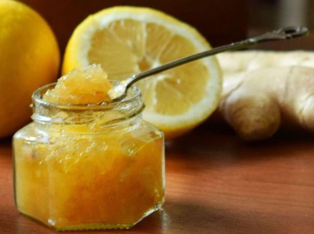 Как хранить имбирь с медом и лимоном