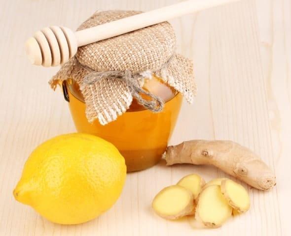 Имбирь с медом и лимоном для иммунитета