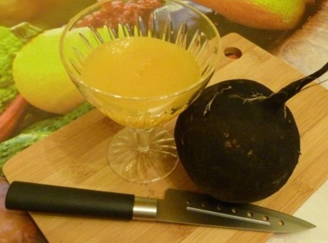 Черная редька с медом от кашля: рецепты