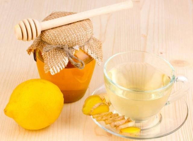 Имбирь с медом и лимоном для иммунитета взрослых