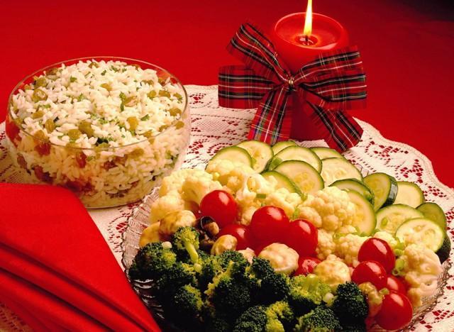 Постные блюда на новый год.