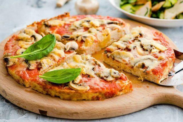 Диетическая пицца в домашних условиях: рецепты в духовке.