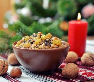 Блюда на новый год постные