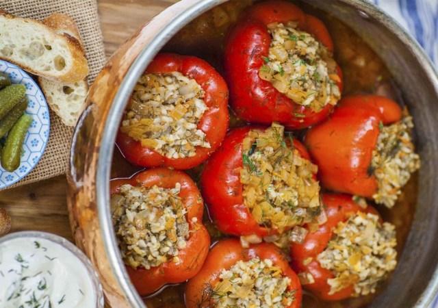 Фаршированный в кастрюле: пошаговые рецепты