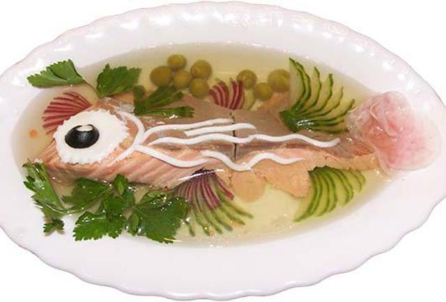 Заливное из судака с желатином: рецепты пошагово