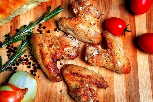 Куриные крылышки в горчично-медовом соусе