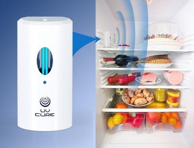 Как избавиться от запаха в холодильнике при помощи ультрафиолета