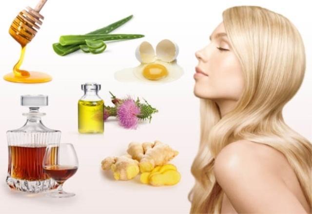Маски от выпадения волос: рецепты