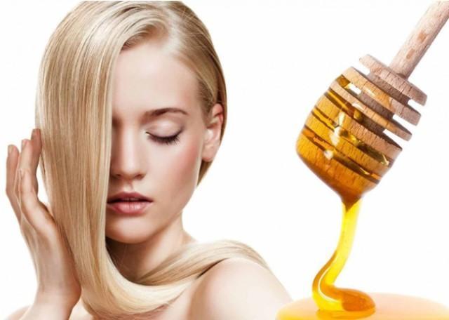Маски от выпадения волос с медом