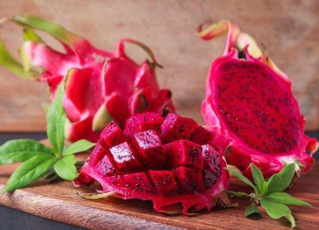 Как есть фрукт питахайя правильно