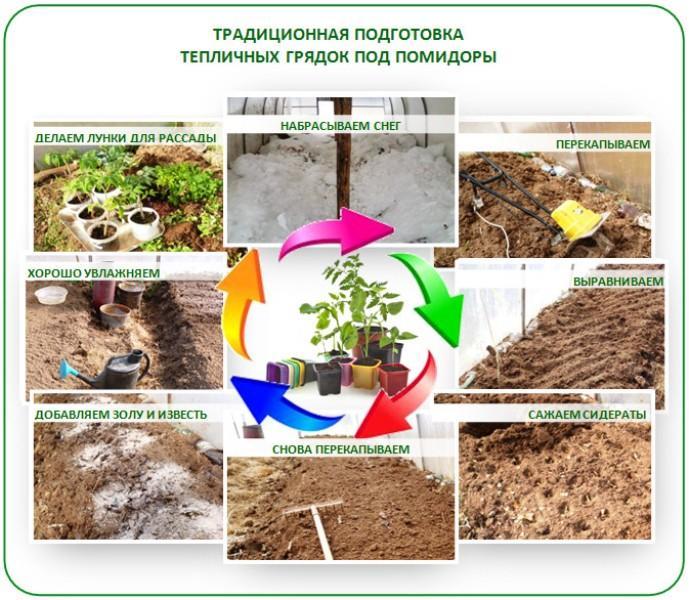 Чем удобрить землю в теплице весной перед посадкой томатов